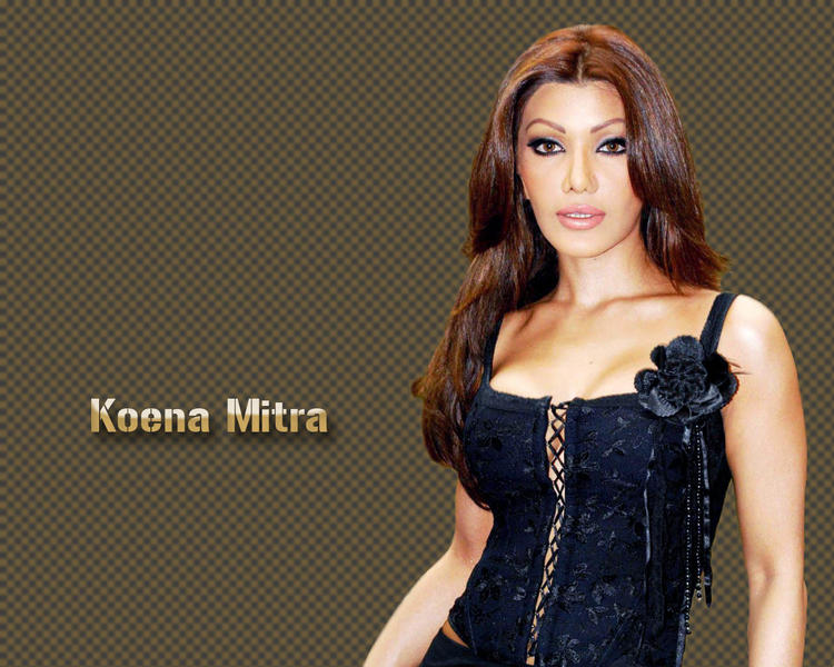 Koena Mitra Awesome Face Wallpaper
