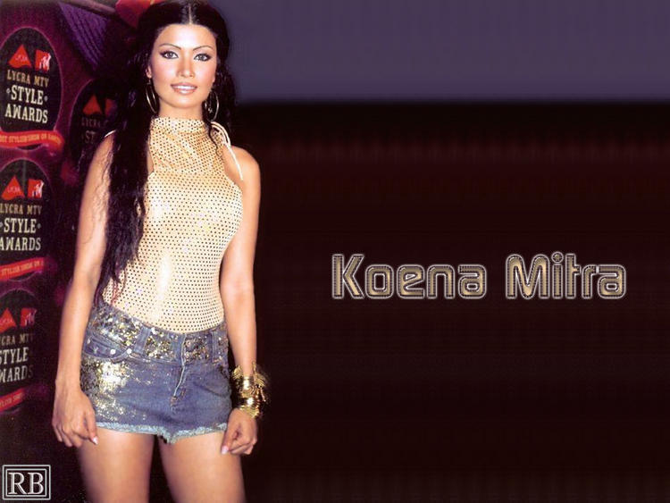 Koena Mitra Mini Dress Glamour Wallpaper