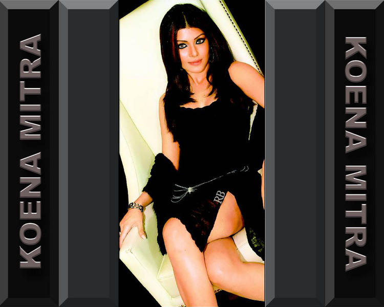 Koena Mitra Spicy look wallpaper
