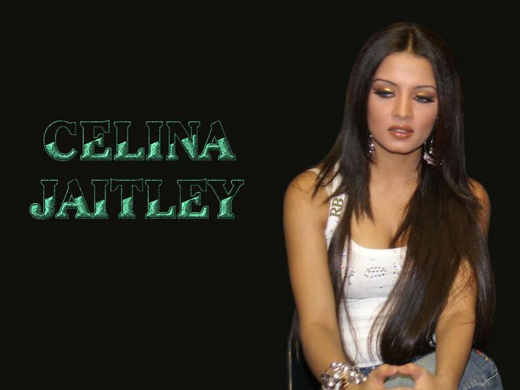 Celina Jaitley Long Hair Sizzling Wallpaper