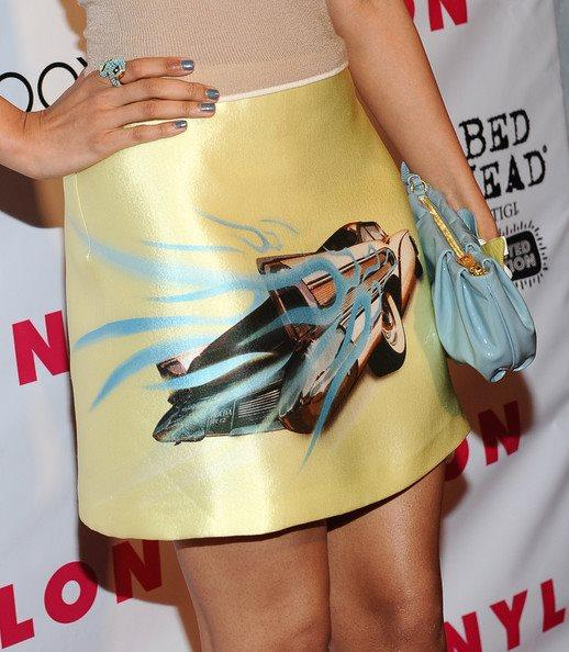 Freida Pinto Had Nice Set Of  Wheels at The Nylon Magazine Party