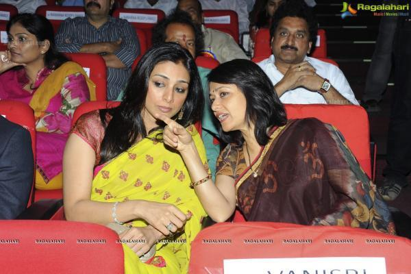 Tabu and Amala Together at an Event in Hyderabad