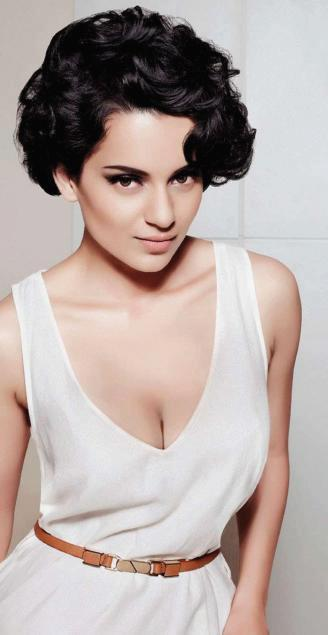 Kangana Ranaut Sexy Cleavages Show Photo shoot