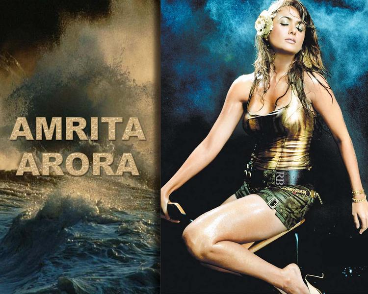 Hottie Amrita Arora Wallpaper
