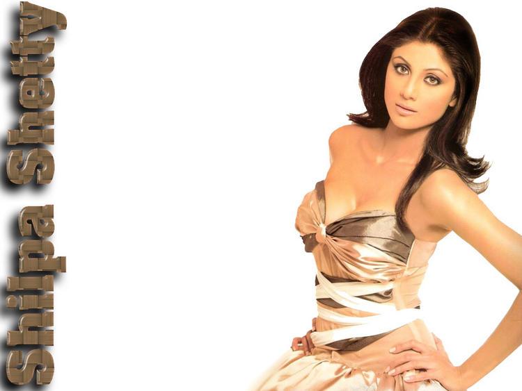 Shilpa Shetty Open Boob Show Sexiest Wallpaper