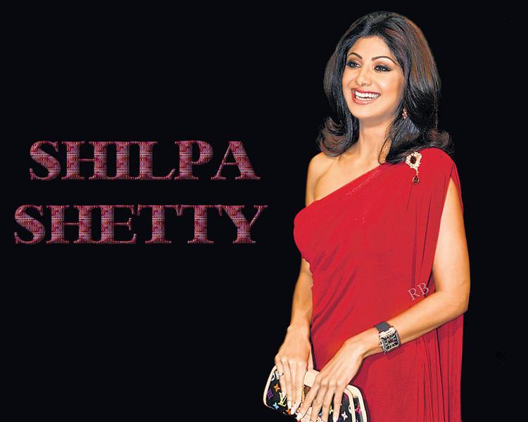 Shilpa Shetty Open Smile Face Wallpaper