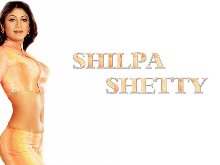 Shilpa Shetty Spicy Navel Pic Wallpaper