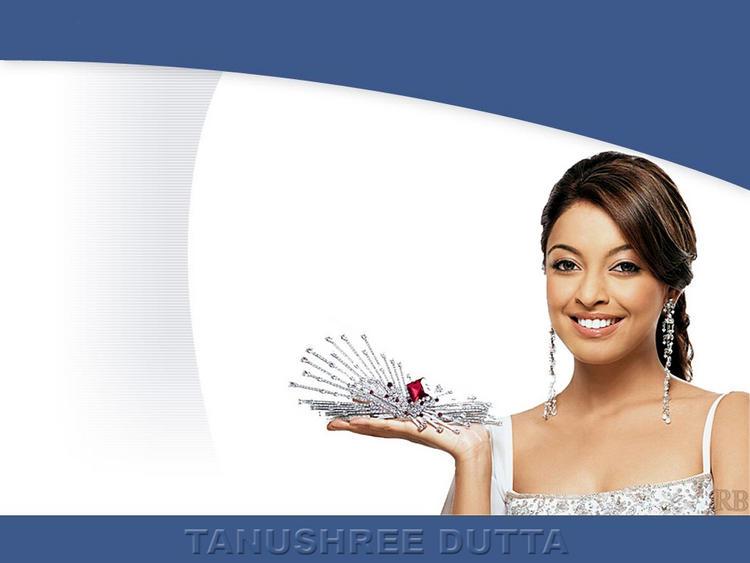 Tanushree Dutta Beauty Smile Wallpaper