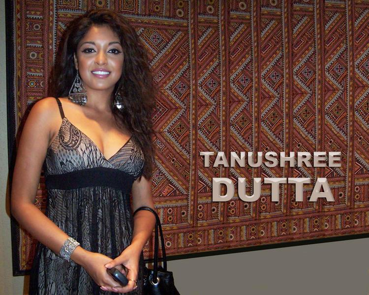 Tanushree Dutta Curly Hair Sweet Wallpaper