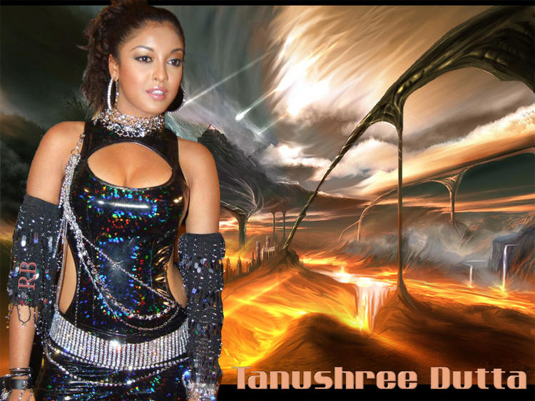 Tanushree Dutta Hot Dress Glamour Wallpaper