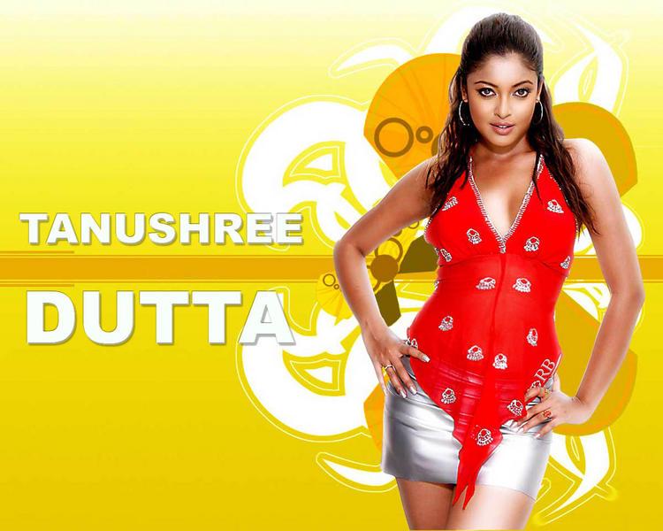 Tanushree Dutta Sexy Mini Dress Wallpaper