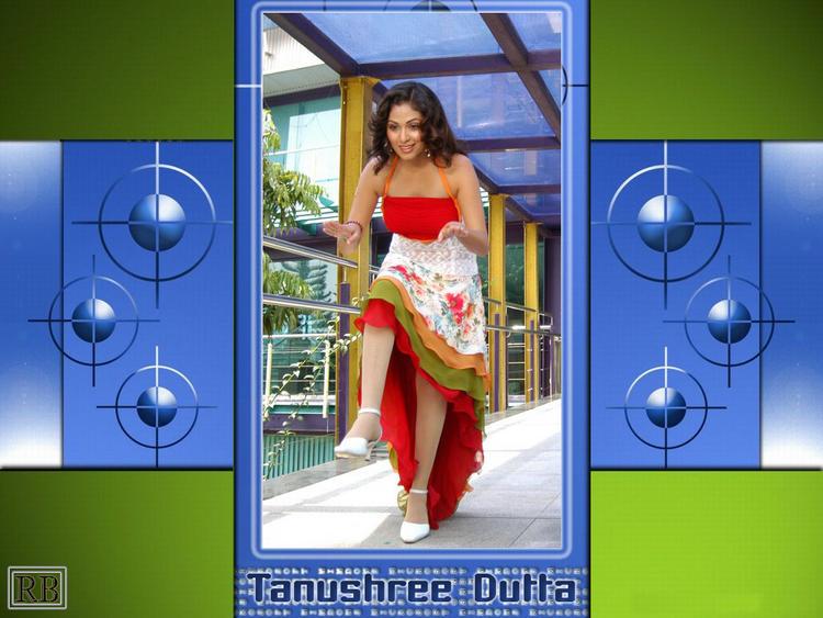 Tanushree Dutta Sweet and Cute Wallpaper