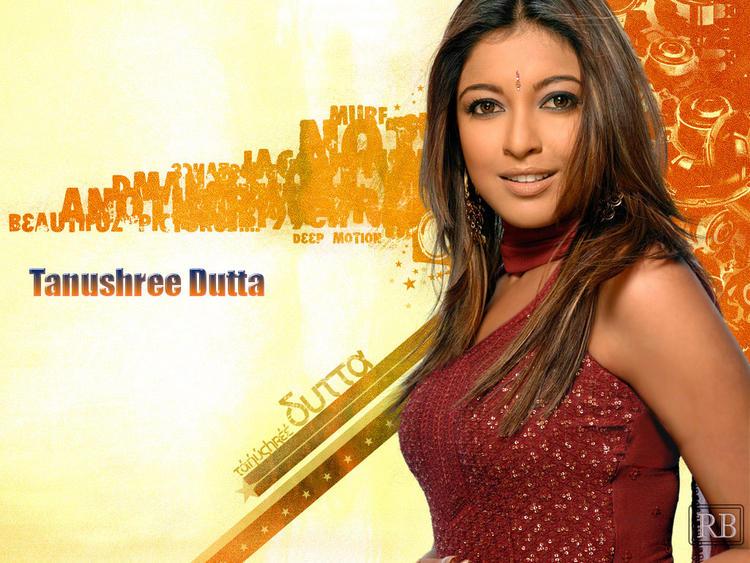 Tanushree Dutta Sweet Face Wallpaper
