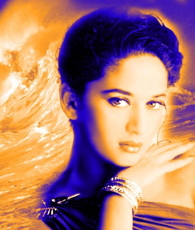 Madhuri Dixit Hot Face Wallpaper