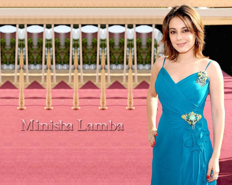 Minisha Lamba Short Hair Stunning Wallpaper