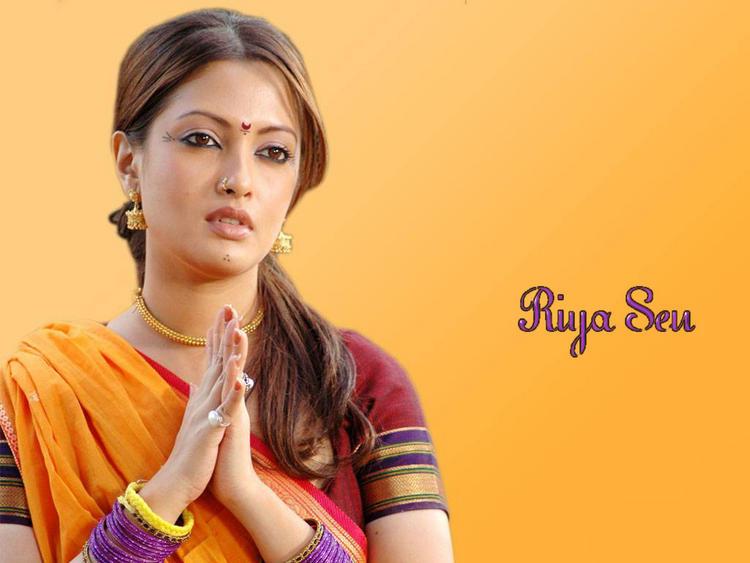 Riya Sen South Indian Look Wallpaper