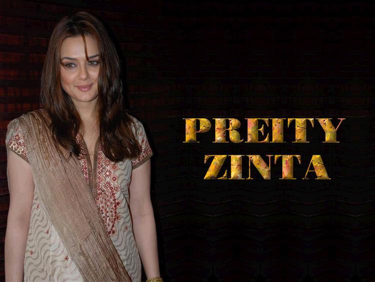 Beauty Queen Preity Zinta Wallpaper