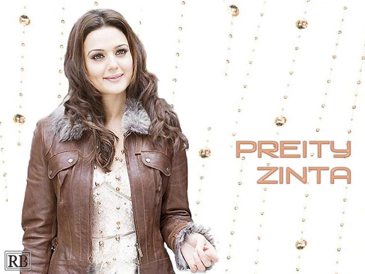 Glorious Preity Zinta Wallpaper