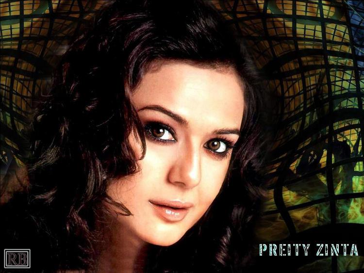 Preity Zinta Glamour Face Wallpaper