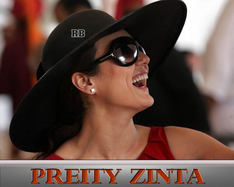 Preity Zinta With Open Smile Pic