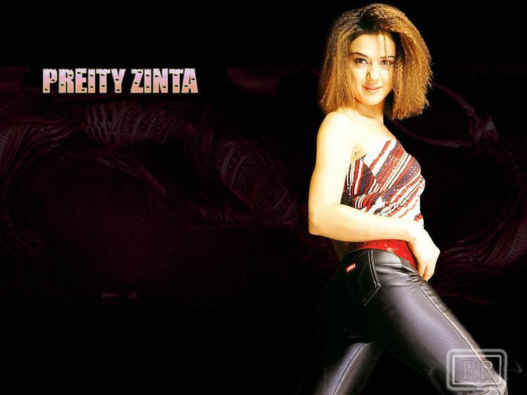 Preity Zinta Rocking Wallpaper Pic