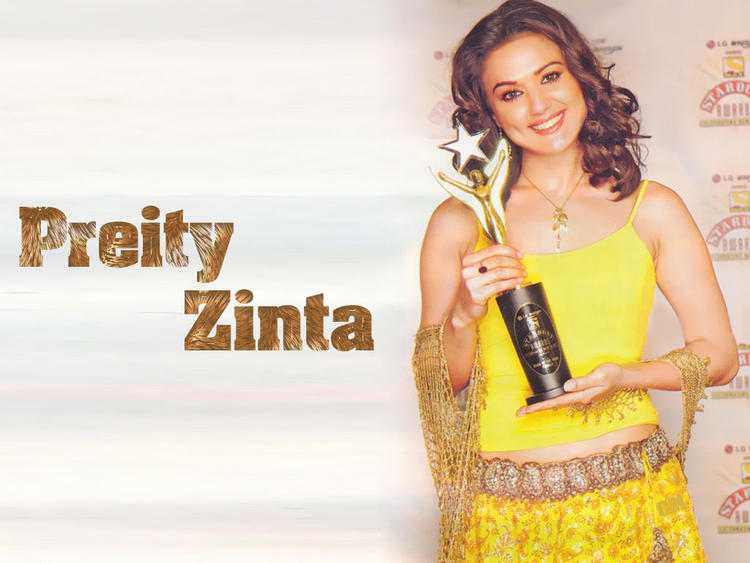 Preity Zinta Sweet Still With Awards