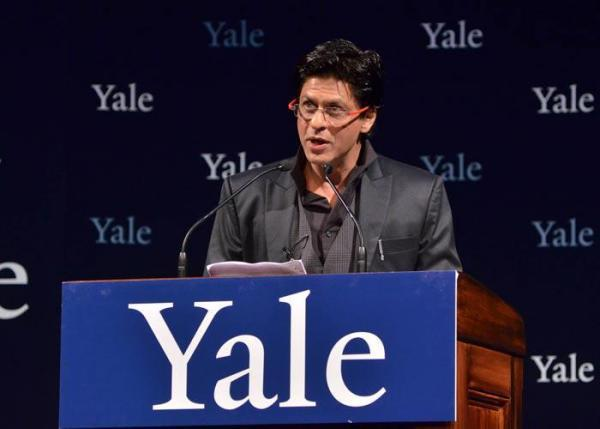 Shahrukh Khan at Yale University