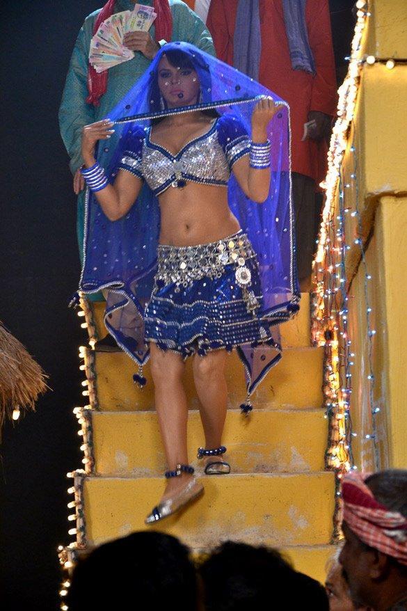 Rakhi Sawant Dance Still For Rakht Beej Movie