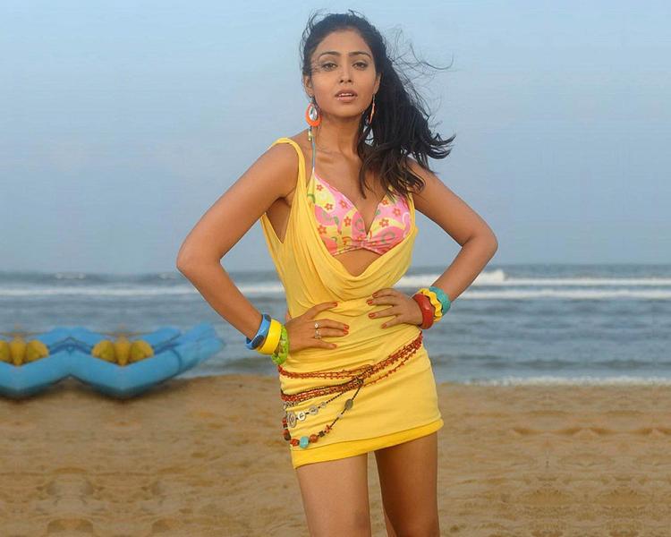 Bikini Babe Shriya Saran Wallpaper