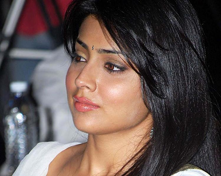 Shriya Saran Beautiful Eyes Look Wallpaper