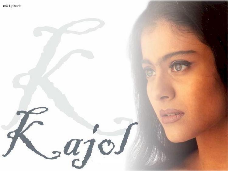 Kajol Devgan Romantic Face Wallpaper