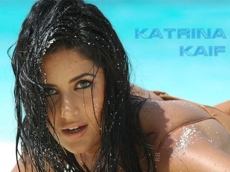 Hot Bollywood Babe Katrina Kaif Wallpaper