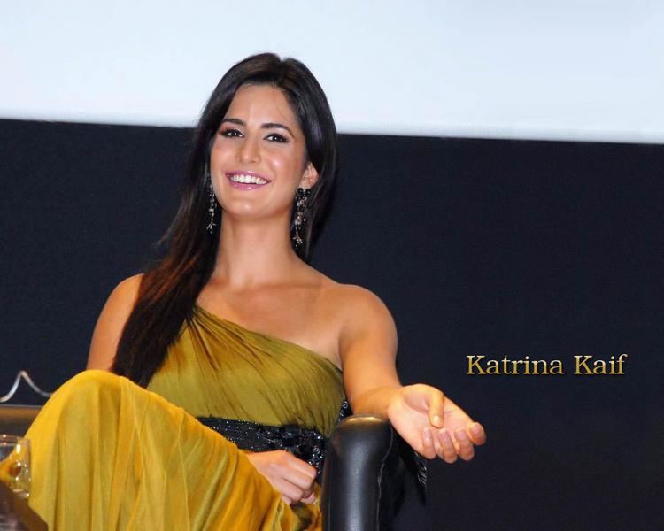 Katrina Kaif Smile Face Wallpaper