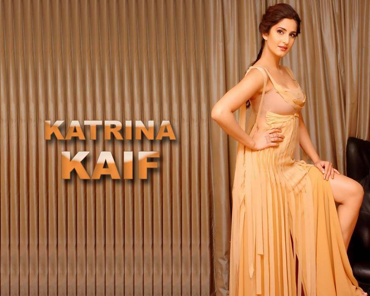 White Babe Katrina Kaif Romantic Look Wallpaper