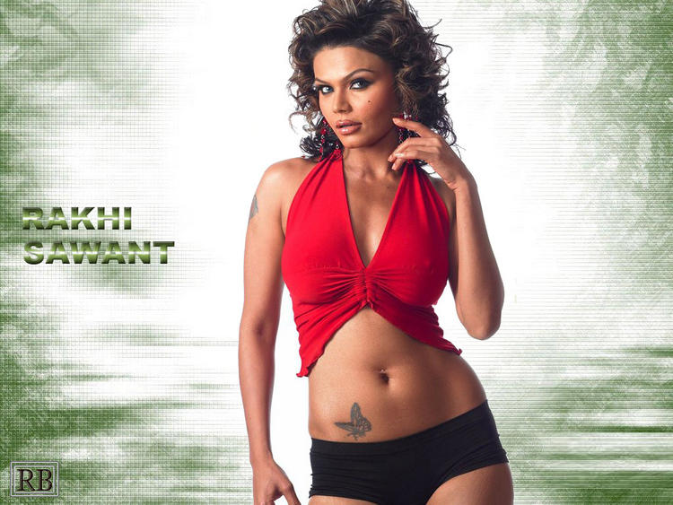 Item Girl Rakhi Sawant  wallpaper