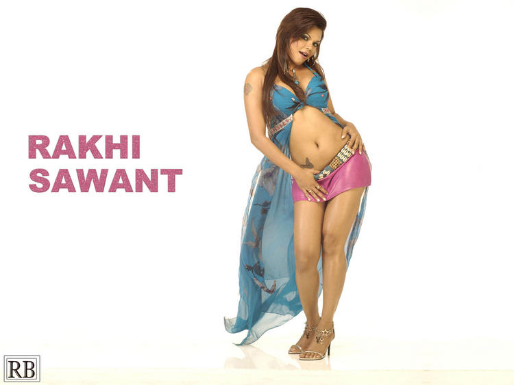 Rakhi Sawant Hot Navel Pic