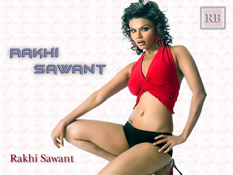 Rakhi Sawant Rock Hair Style Wallpaper