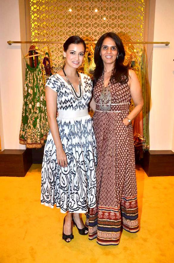 Anita Poses To Photo Shoot With Dia Mirza