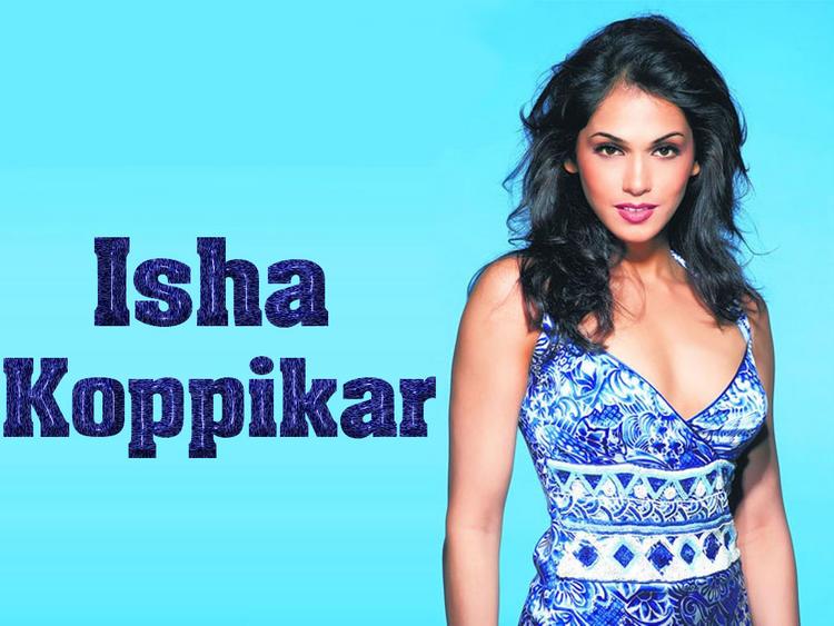 Isha Koppikar Awesome Face Still