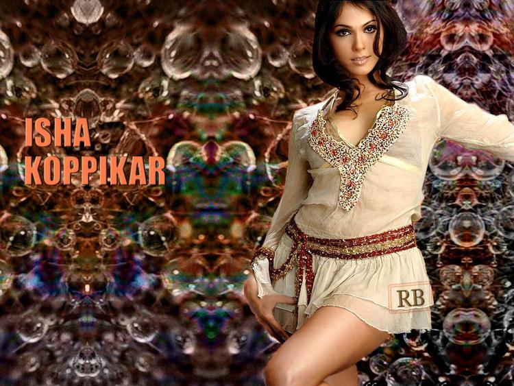 Isha Koppikar Cute Dress Hot Wallpaper