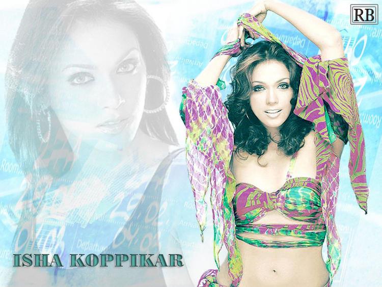 Isha Koppikar Hot Scene Wallpaper