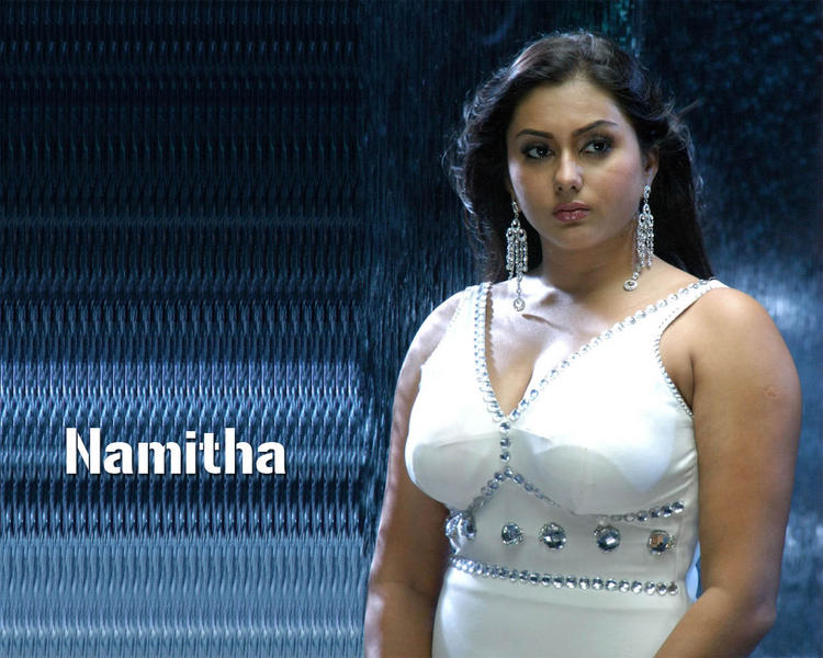 Namitha Awesome Face Look Wallpaper
