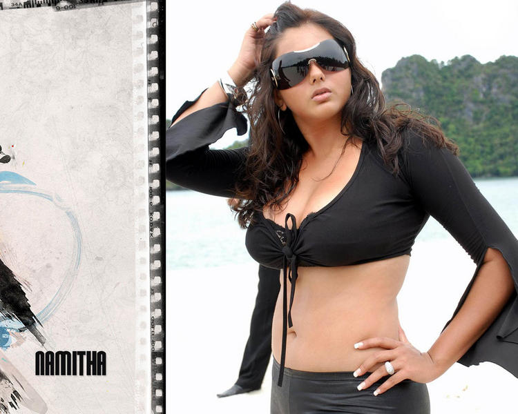 Namitha Hot Stylist Wallpaper