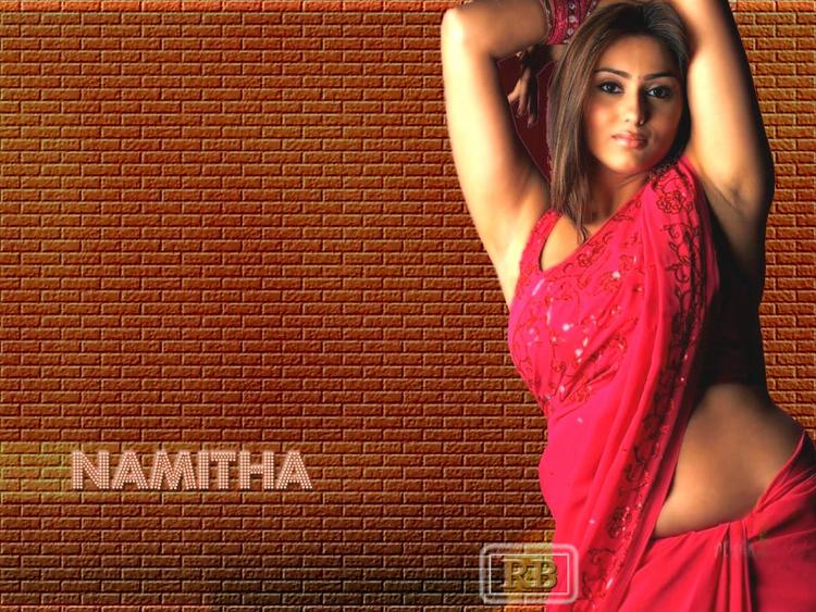 Namitha Sexy still In Saree
