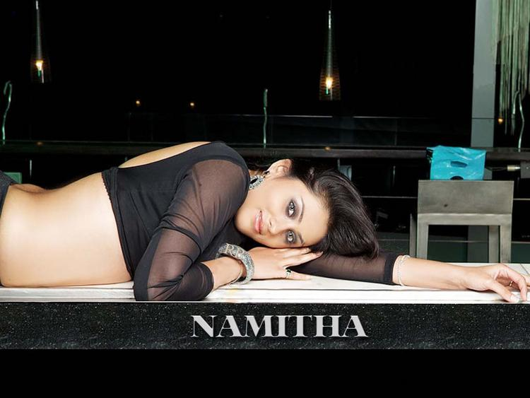 Namitha Spicy Pose Wallpaper