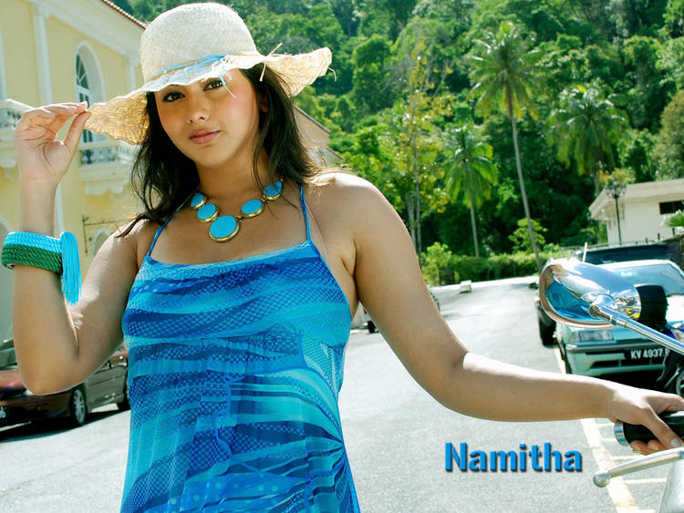 Namitha Stunning and Stylist Wallpaper