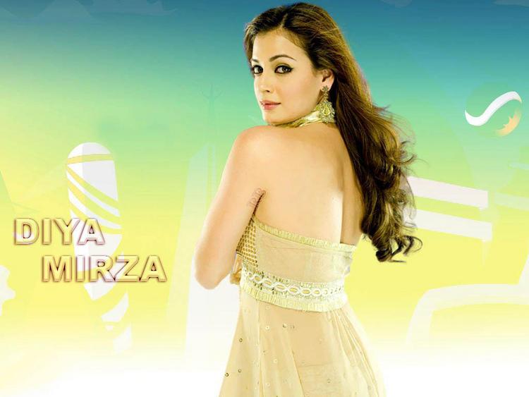Diya Mirza Awesome Face Beauty Still