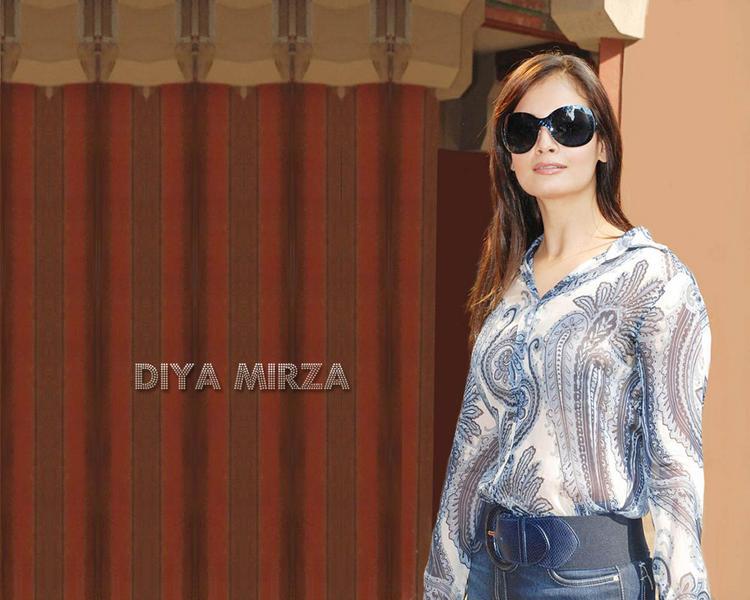 Diya Mirza Hot Stylist Wallpaper