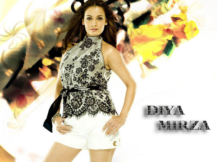 Diya Mirza Mini Dress Sexiest Wallpaper