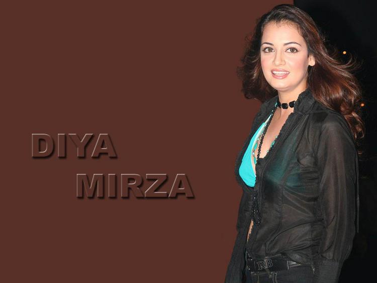 Diya Mirza Sexiest Face Still